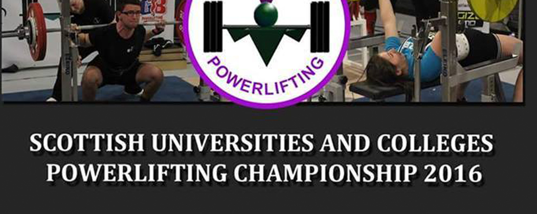 Scottish Universities and Colleges Championship – ENTRY NOW CLOSED